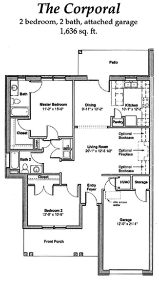 The Coropal - Floor Plan