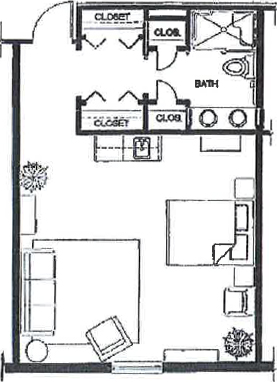 Poplar Suites - Floor Plan