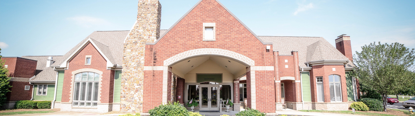 Hearthside Senior Living Front Entrance